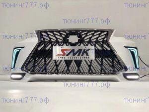 Бампер передний, Lexus стиль, под окраску