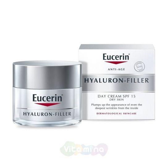 Eucerin Hyaluron-filler Крем для дневного ухода за сухой чувствительной кожей, 50 мл