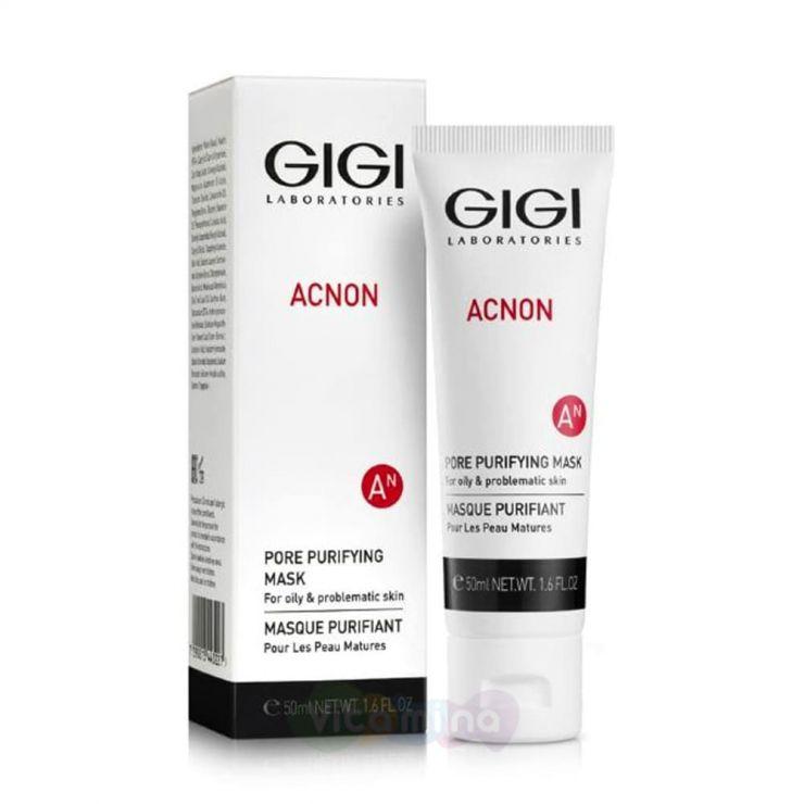 GiGi Маска для глубокого очищения пор Acnon Pore Purifying Mask, 50 мл