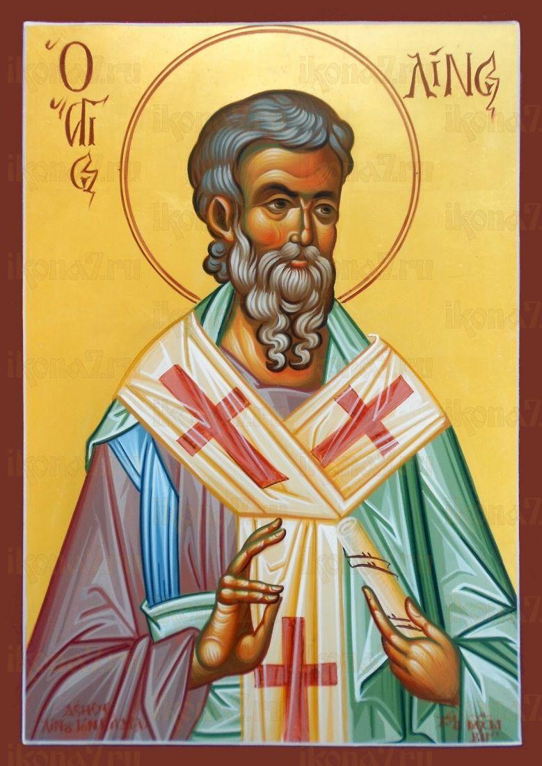 Икона Лин Римский апостол