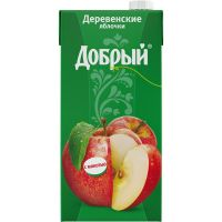 Нектар ДОБРЫЙ Деревенские яблочки, 2л