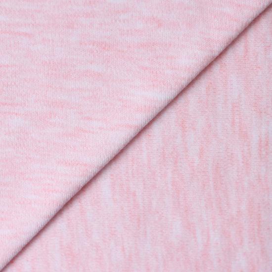 Лоскут трикотажной ткани Розовый меланж