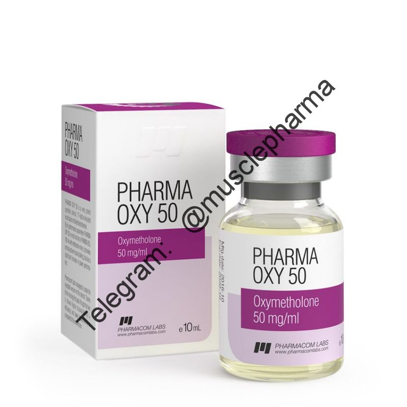 PHARMA OXY 50 (ОКСИМЕТАЛОН). PHARMACOM LABS. 50 mg/ml
