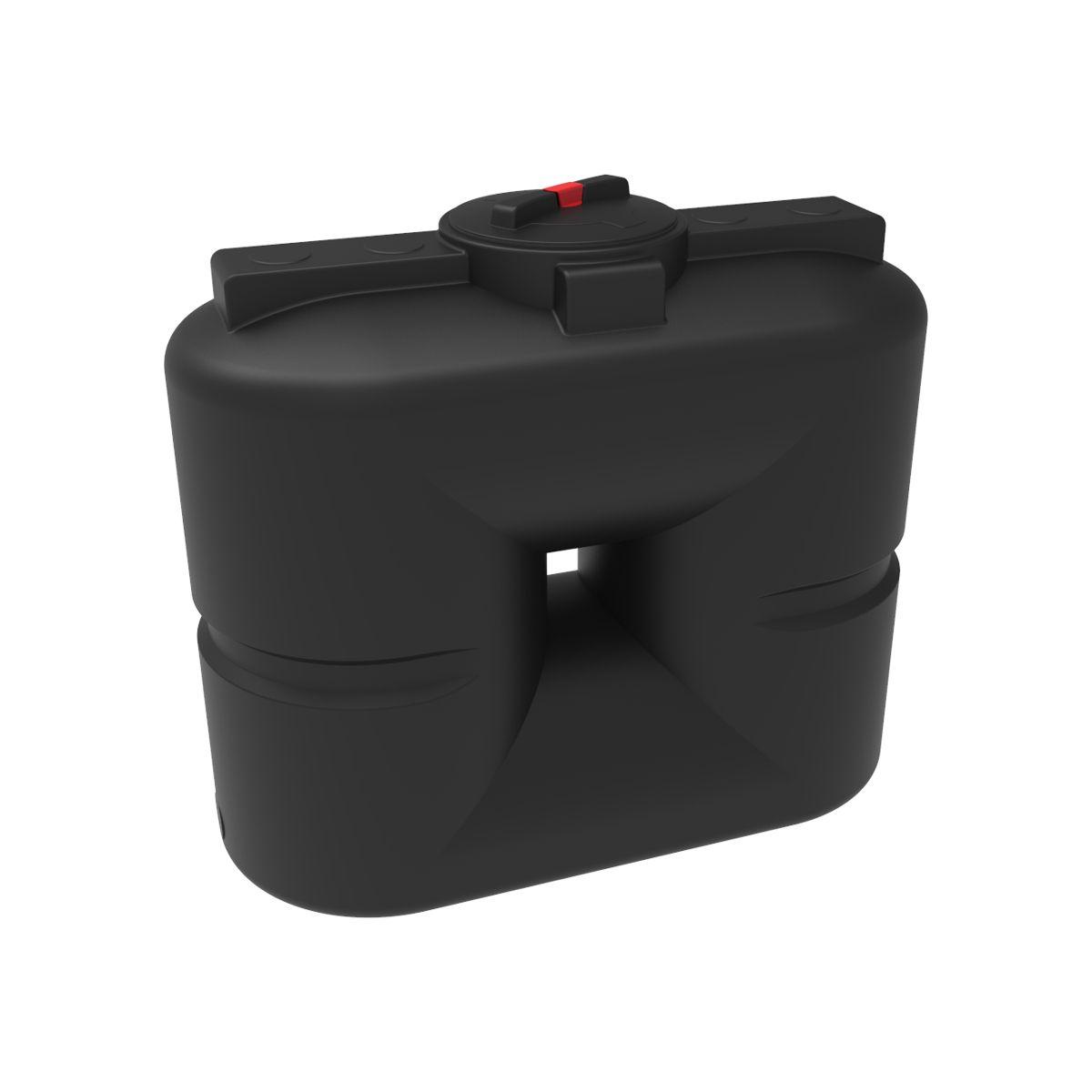Бак для воды S 500 литров черный пластиковый