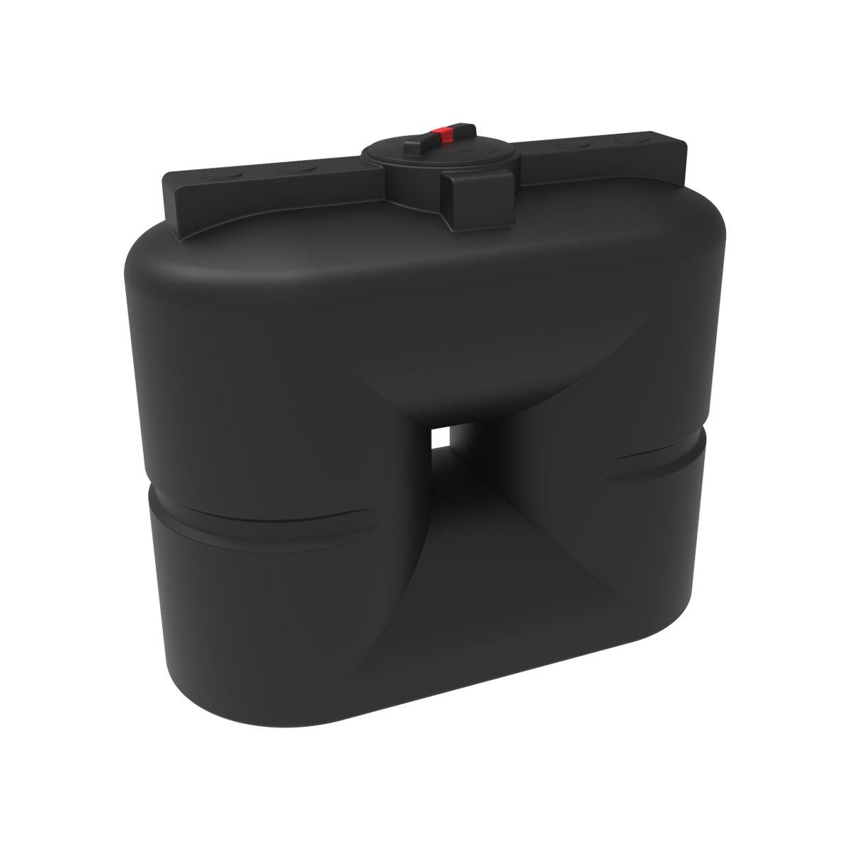 Бак для воды S 1000 литров черный пластиковый