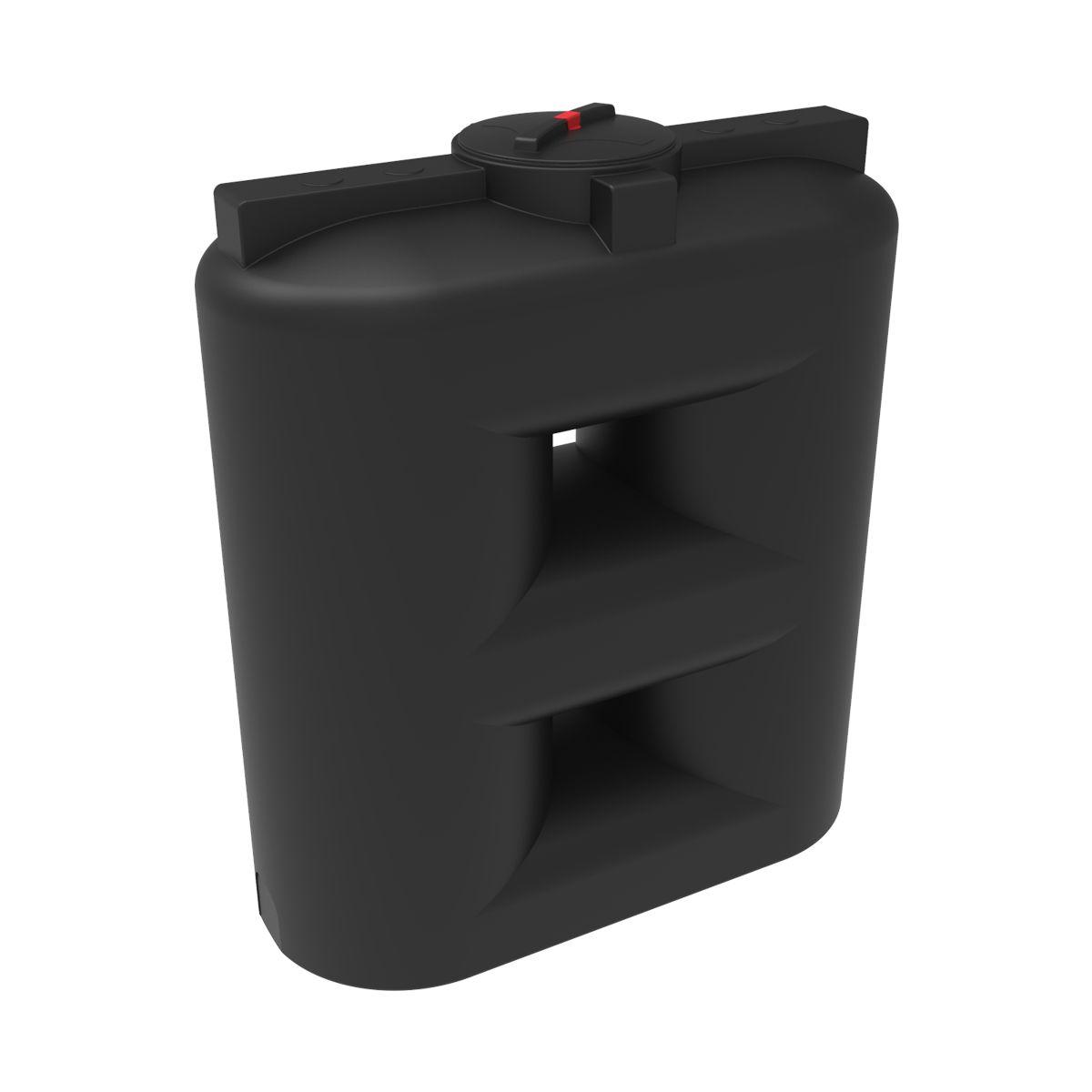 Бак для воды S 1500 литров черный пластиковый