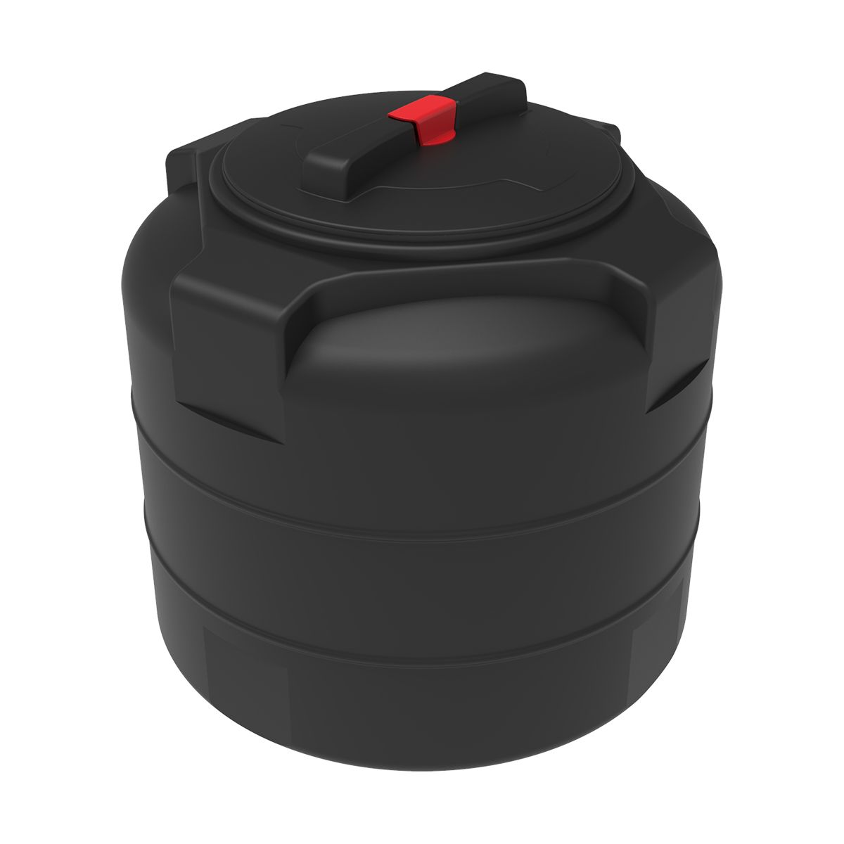 Бак для воды T 100 литров пластиковый черный