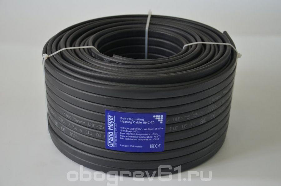 Саморегулирующийся кабель Grand Meyer-25-Вт-UHC