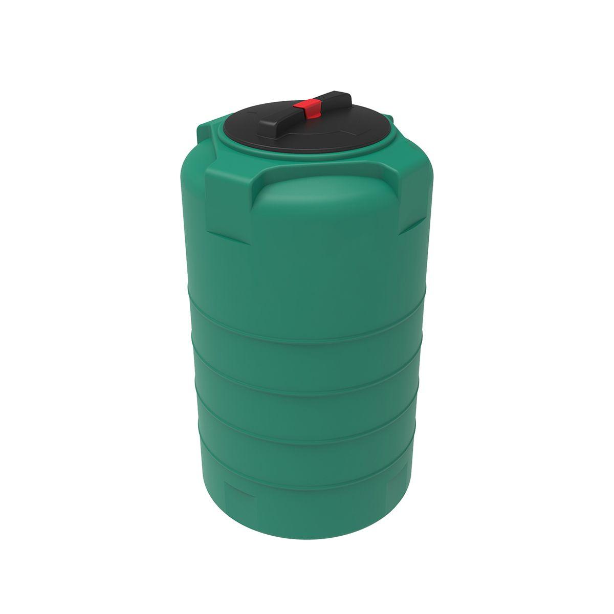 Емкость T 200 литров зеленый пластиковая