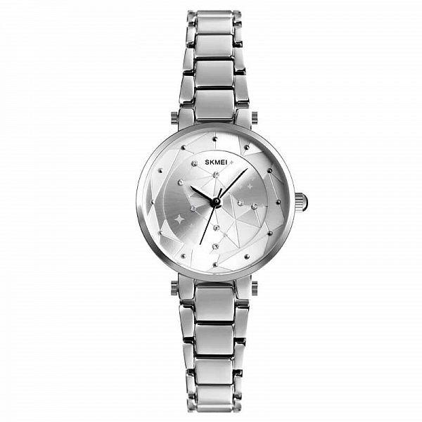 Часы наручные Skmei 1411 серебро