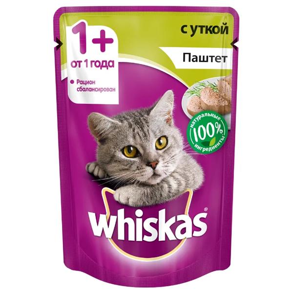 Корм для кошек беззерновой с уткой паштет 85 гр