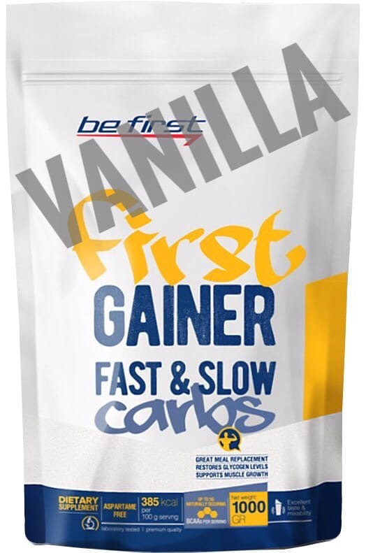 Be First Gainer Fast & Slow Carbs vanilla
