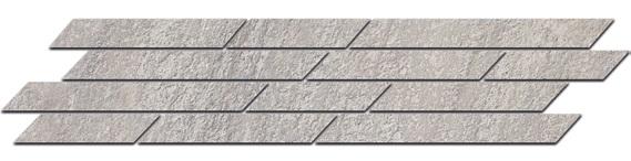 SG144/004 | Бордюр Гренель серый мозаичный