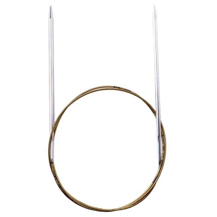 Спицы ADDI супергладкие круговые (105-7)