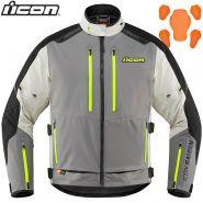 Куртка Icon Raiden, Серо-черно-белая