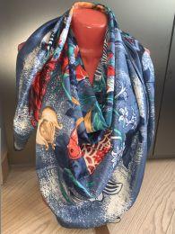 Шелковый платок Hermes, арт. 007
