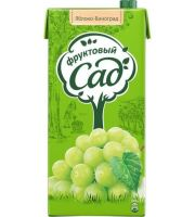 Нектар ФРУКТОВЫЙ САД Яблоко-виноград, 1,93л