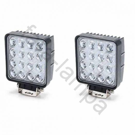 Комплект дополнительных LED фар 96 ватт