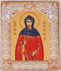Икона Кира Берийская (9х10,5см)
