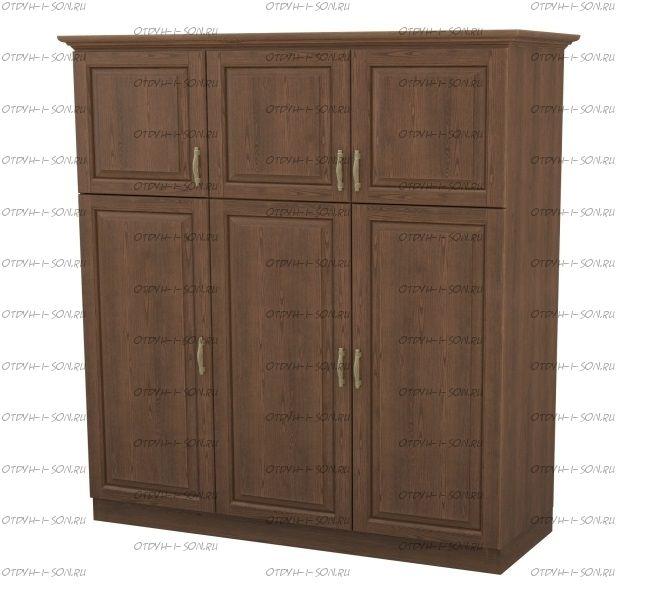 Шкаф 3-дверный Эдем Массив DreamLine (143х56х220)