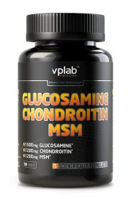 Glucosamine Chondroitine MSM от VP Laboratory 90 таб