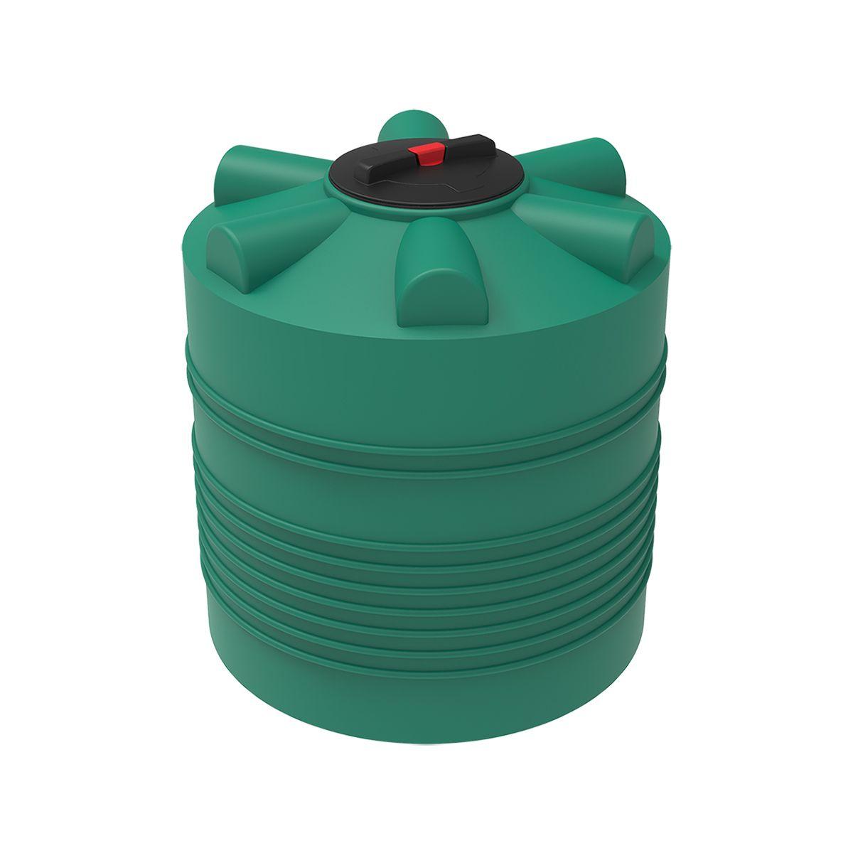 Бак для воды 500 литров ЭВЛ зеленый пластиковый