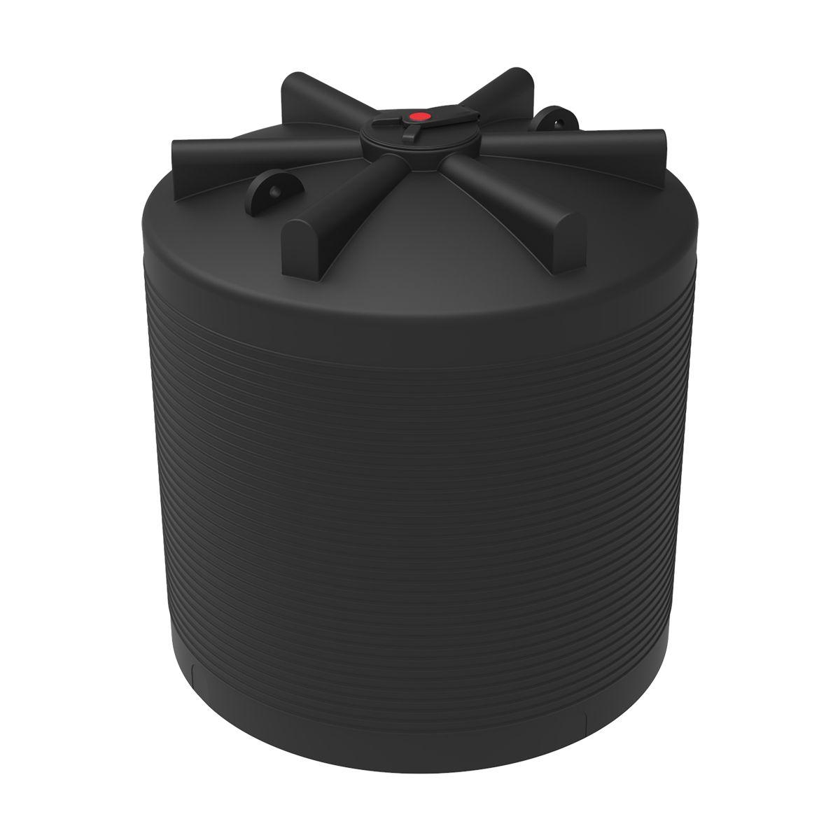 Бак для воды 7500 литров ЭВЛ черный пластиковый