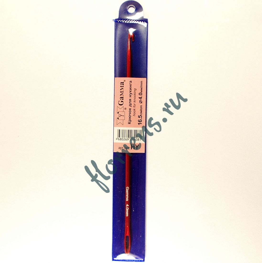Крючок для нукинга, металл 4.0 мм - 16.5 см