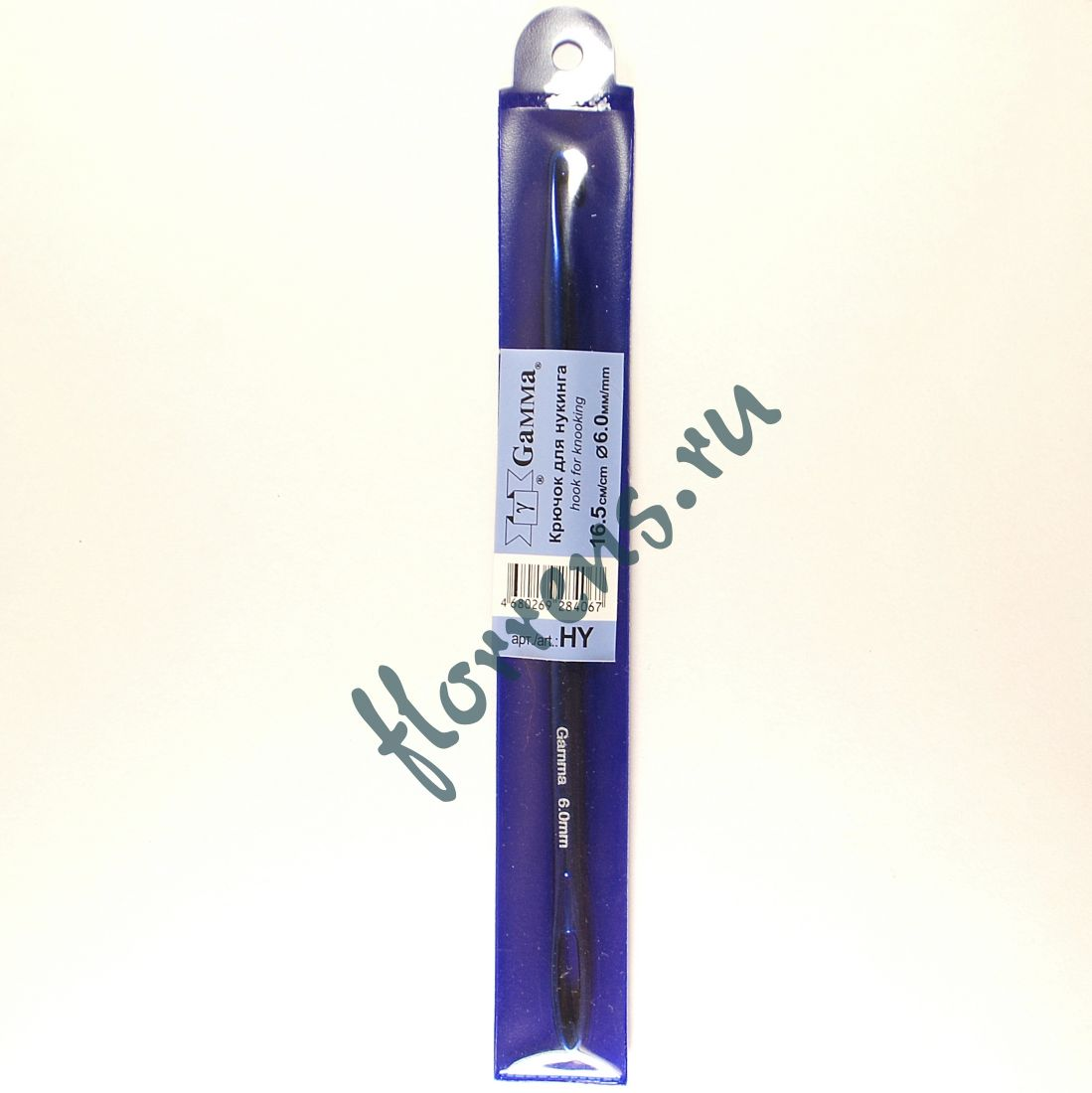 Крючок для нукинга, металл 6.0 мм - 16.5 см