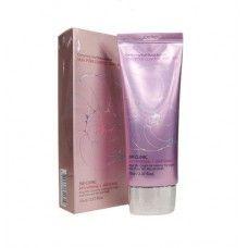 УЛИТОЧНЫЙ ВВ КРЕМ С СЕБУМ КОНТРОЛЕМ 3W CLINIC  Silky Pore Control BB Cream (Pink), 70 мл
