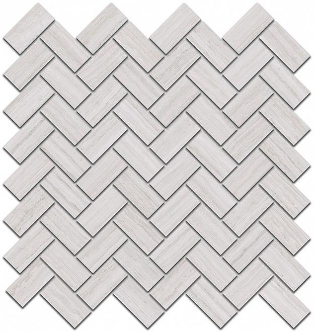 190/001 | Декор Грасси серый светлый мозаичный