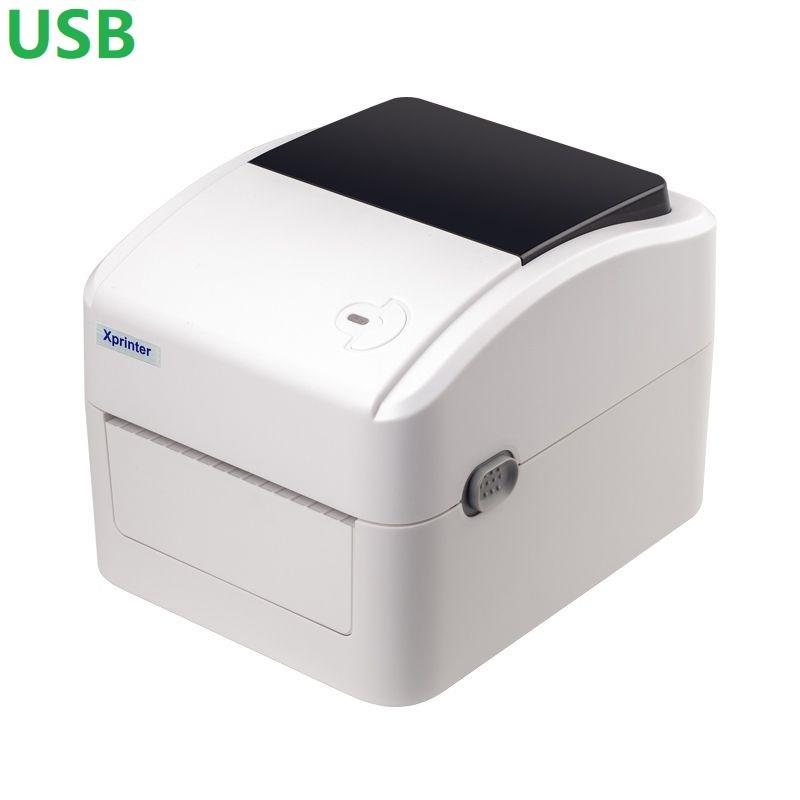 Термальный принтер этикеток Xprinter XP-420B white белый USB