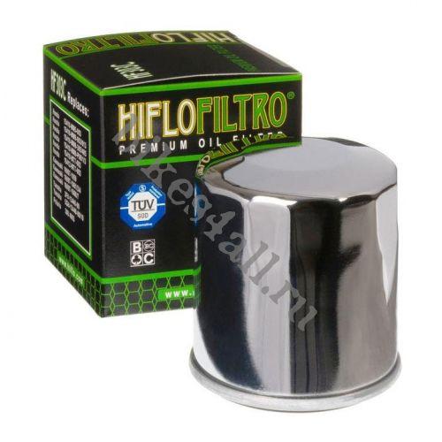 Фильтр масляный хромированный HIFLO FILTRO HF303C