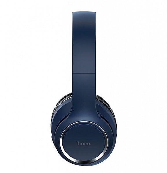 HOCO W28 Синие наушники большие - гарнитура (Bluetooth)