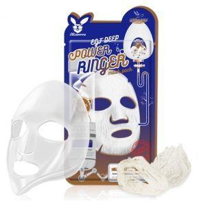 [Elizavecca] НАБОР/Ткан. маска д/лица с Эпидермальным фактор EGF DEEP POWER Ringer mask pack, 10 шт