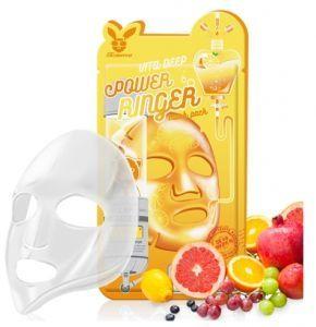 Тканевая маска для лица с Витаминами Elizavecca  VITA DEEP POWER Ringer mask pack, 23мл