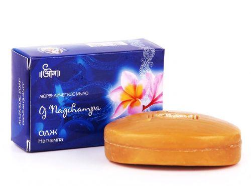 Мыло аюрведическое Одж Нагчампа | 100 г | Oj Nagchampa Soap