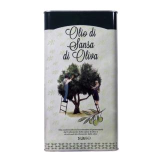 Масло оливковое Sansa (Pomace) рафинированное с добалением нерафинированного в ж.б. 5 литров. Италия