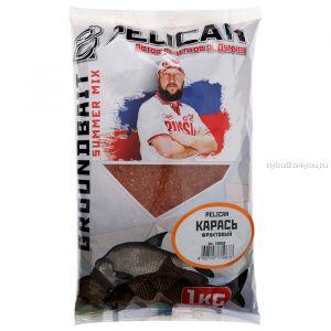 Прикормка Pelican Карась / Фруктовый  /  1 кг