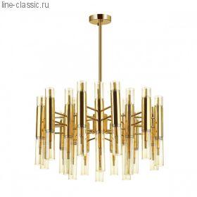 Люстра ODEON 4690/36 золотой/янтарный