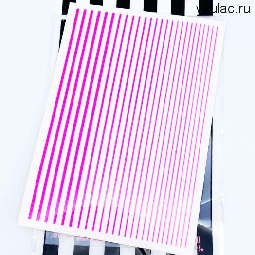 Гибкая лента , неоновая коллекция ( розовая)