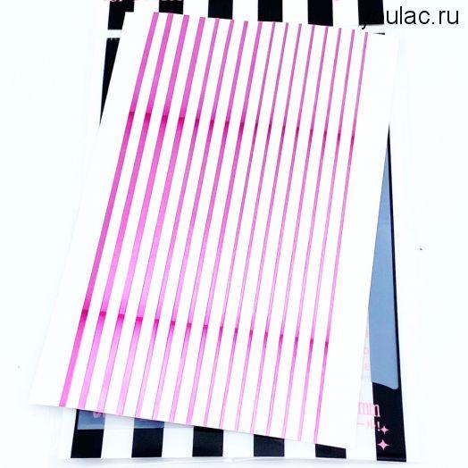 Гибкая лента , металлическая коллекция  ( розовый металл)