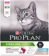 Purina Pro Plan Opti Savour Корм для стерилизованных кошек с треской, с форелью 1.5 кг