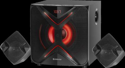 Распродажа!!! Акустическая 2.1 система G60 60Вт, BT/FM/MP3/SD/USB/LED/RC