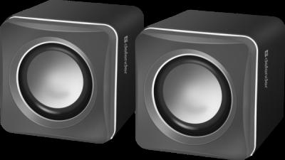 Акустическая 2.0 система SPK 33 серый, 5 Вт, питание от USB