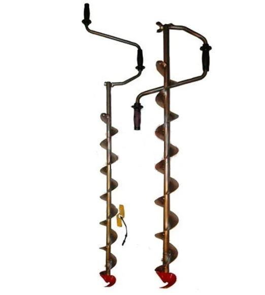 Ледобур Титан для сменной головки Heinola (Rapala) 135 мм или 155 мм с удлинителем TEURUD135/155