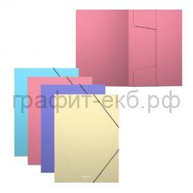 "Папка А5+ на резинках ""Matt Pastel"" ассорти ErichKrause 50401"