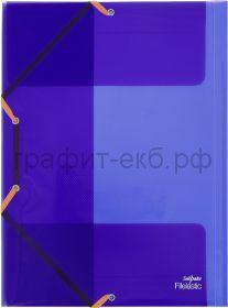 Папка А4 на резинках Snopake Electra K13720