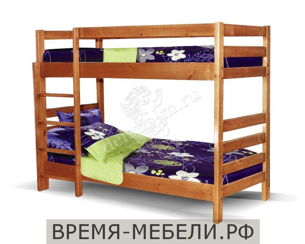 Кровать Дача-М двухъярусная