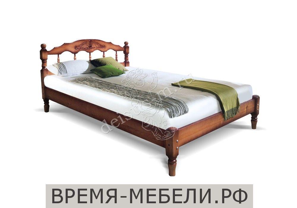 Кровать тахта Каролина-М с резьбой